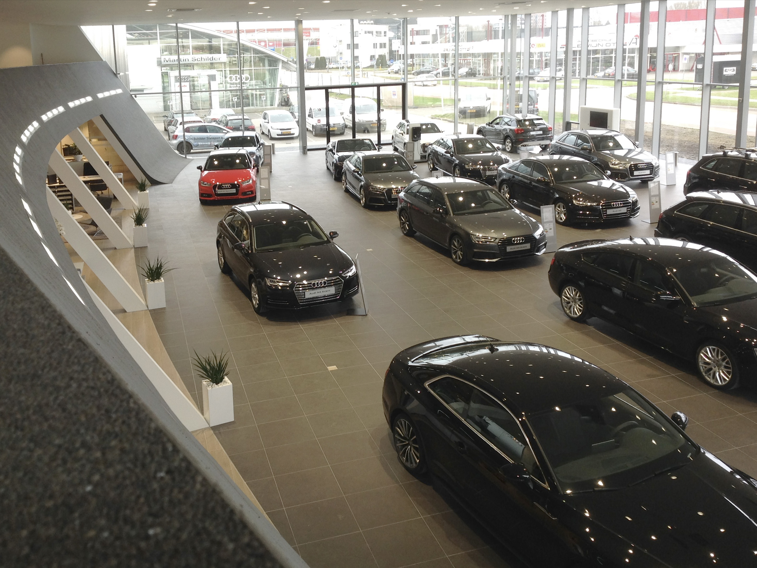 Audi showroom in Alkmaar
